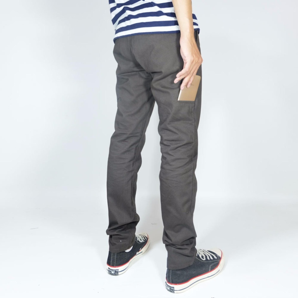 Diskon Nhs Celana Chino Pria Pocket Straight Fit Coffee Branded